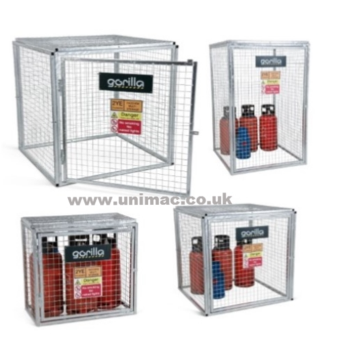 Flat Pack  Gas Cylinder Cages
